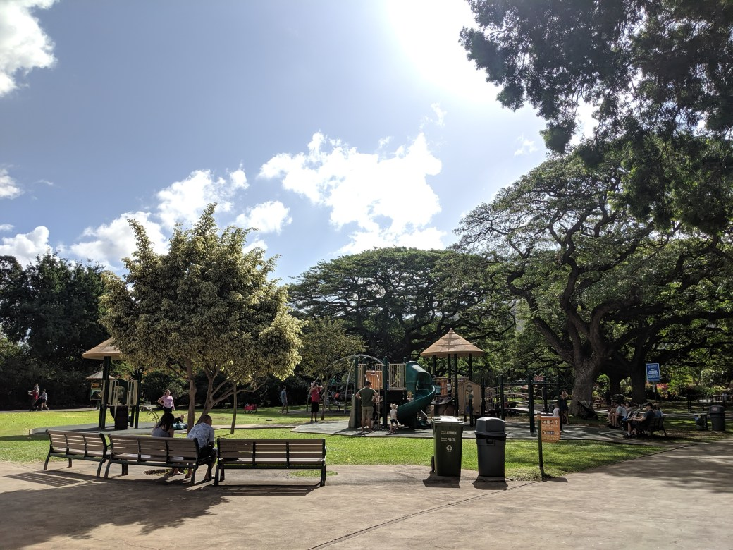 The playground at the HNL Zoo