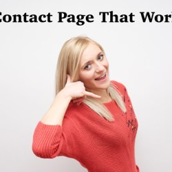contact page drives sales