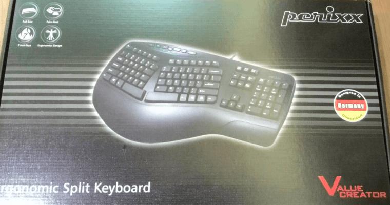 人體工學鍵盤, MS Ergonomic 4000, Sculpt, Perixx 使用心得