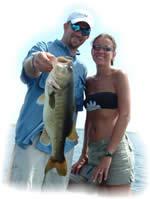 Florida Bass Fishing Couple