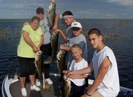 Bass Fishing Lake Okeechobee