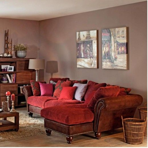 Wall Paint Color For Red Couch Hawk Haven