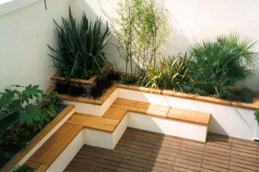 Contemporary Garden Seating Ideas Hawk Haven