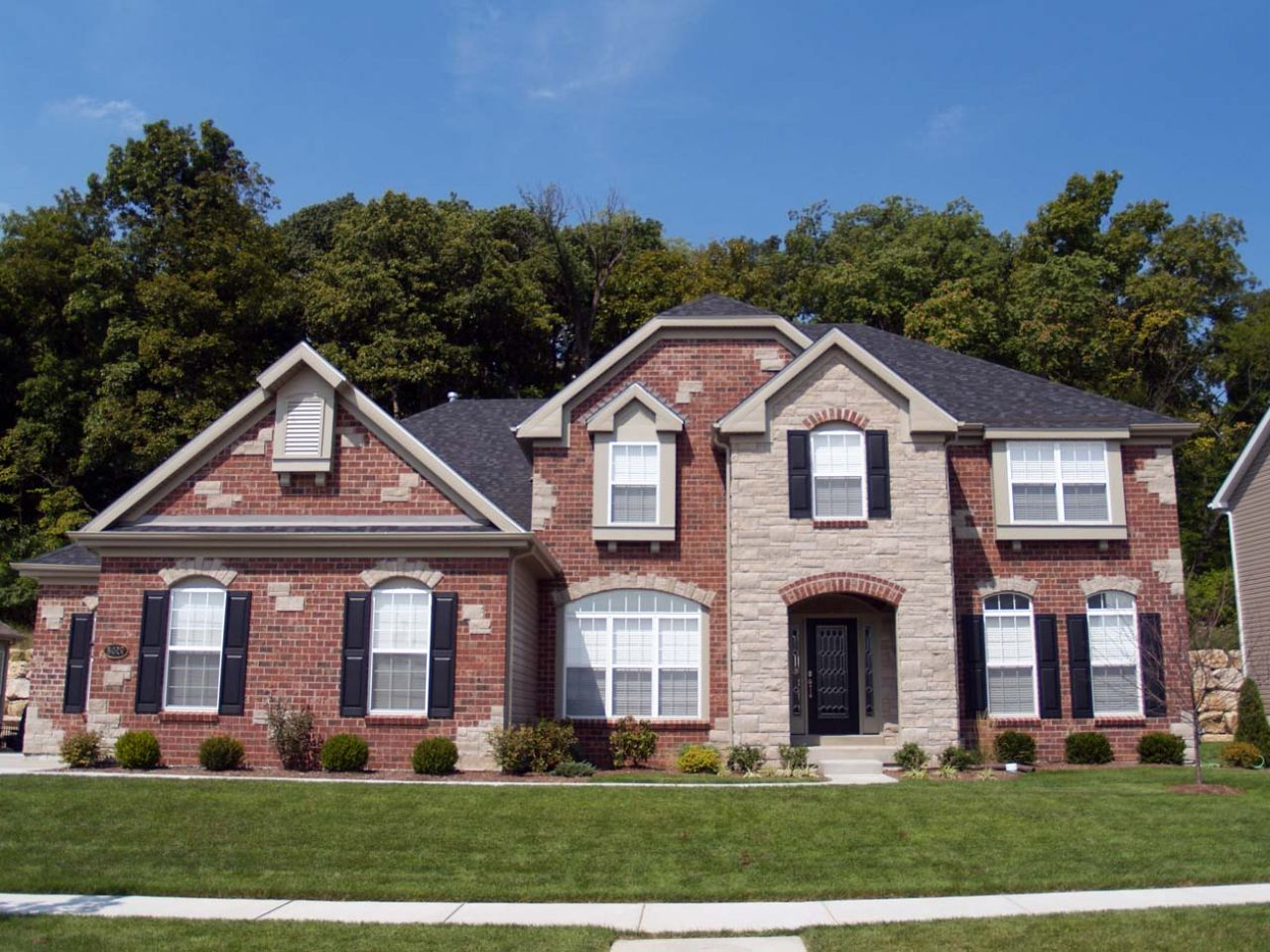 Exterior Paint Colors For Red Brick Homes Hawk Haven