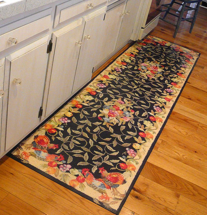 French Country Kitchen Rug Novocom Top