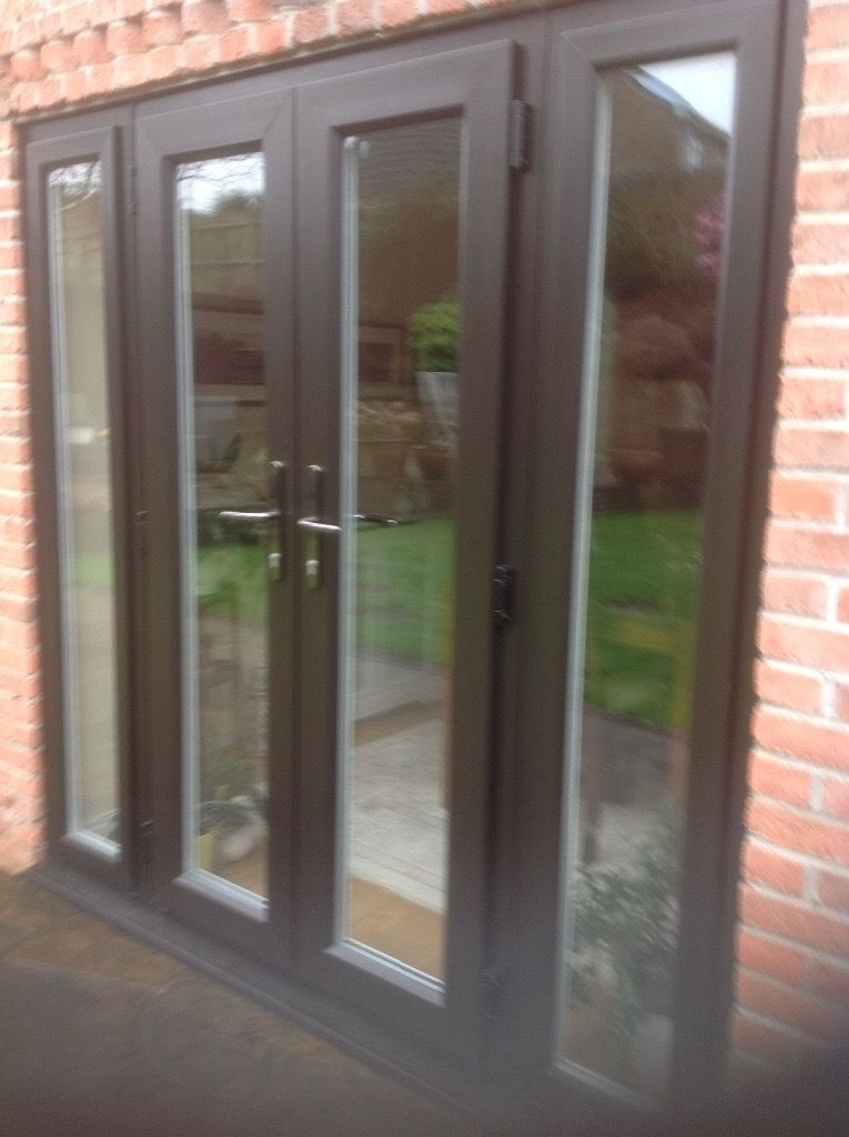 French Doors Exterior With Side Panels Hawk Haven