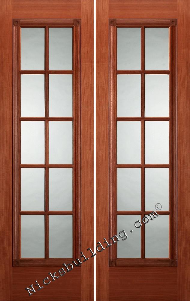 French Double Doors Interior Hawk Haven