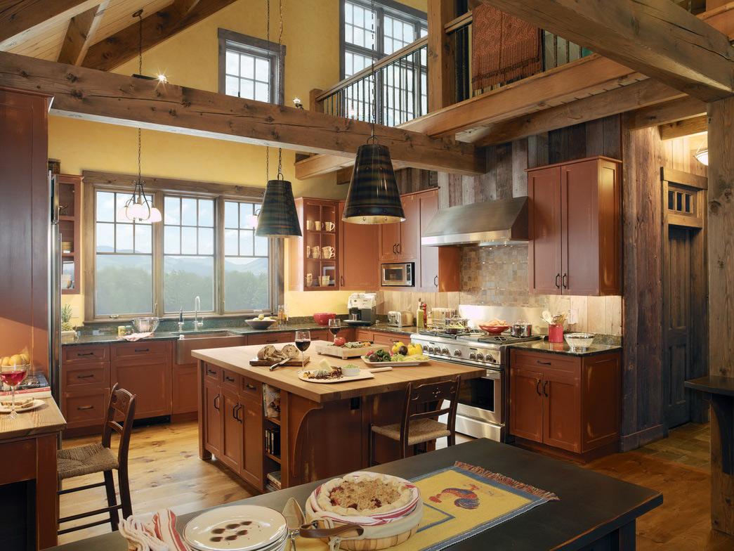 Best Kitchen Gallery: Luxury Country Kitchen Designs Hawk Haven of Luxury Country Kitchens on rachelxblog.com