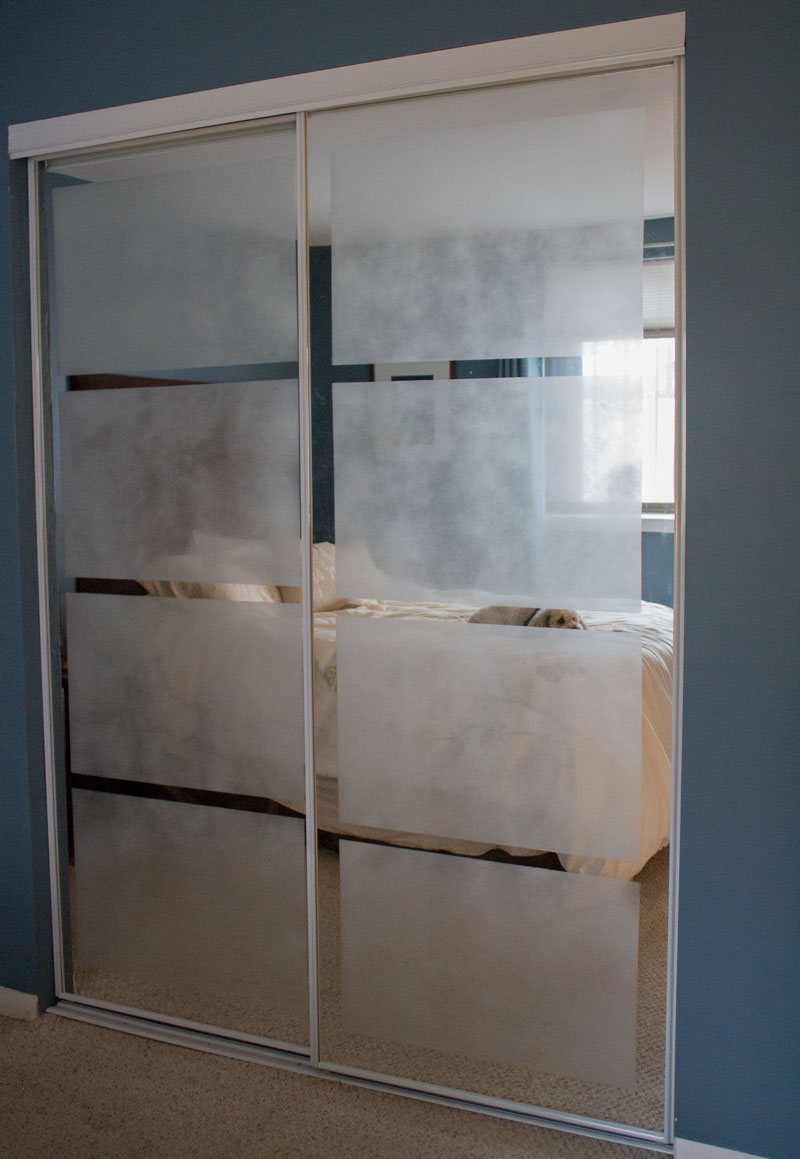 Mirrored Closet Doors Diy Hawk Haven