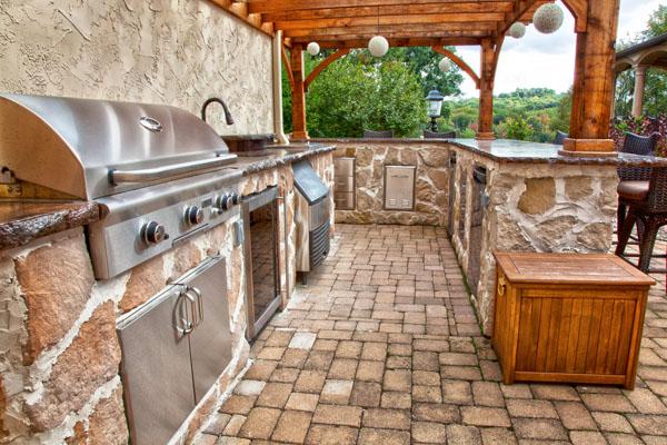 Outdoor Country Kitchen Designs Hawk Haven