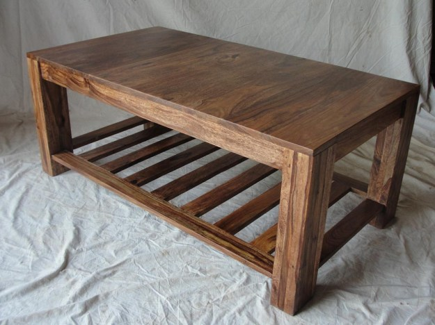 wooden coffee table design plans | hawk haven