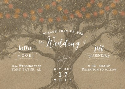 Wedding Invitation - Front