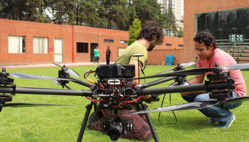 dron policia