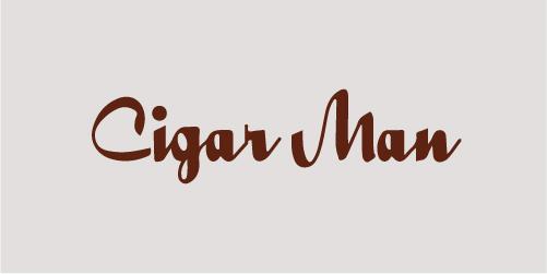 Cigar Man Logo - Original