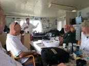 Navigation and radio training on Base