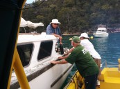 Assisting a breakdown south of Refuge Bay