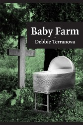Front cover of Baby Farm by Debbie Terranova - a page-turner mystery.