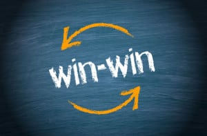45940884 - win-win situation - business concept
