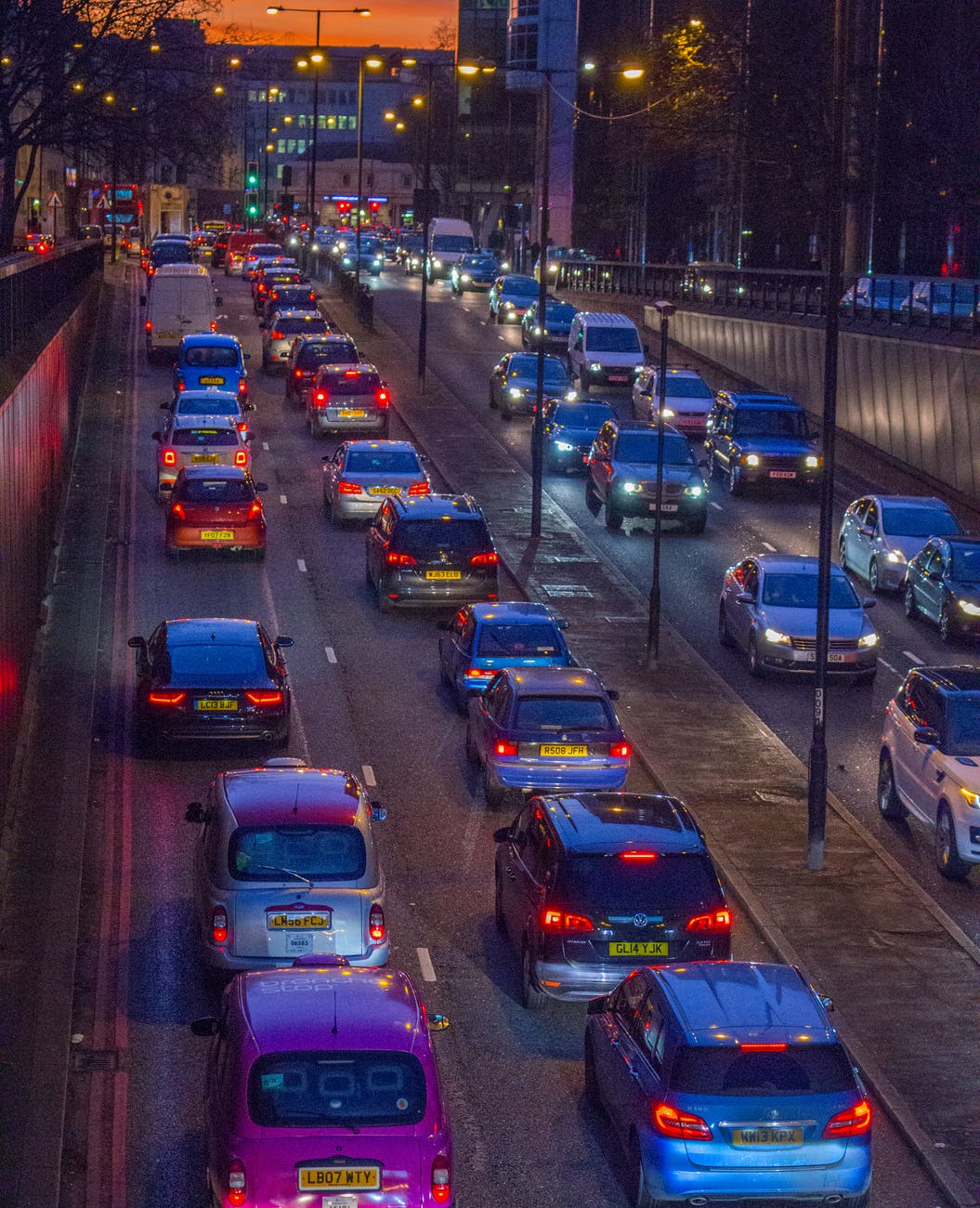 London Traffic Noise & Pollution
