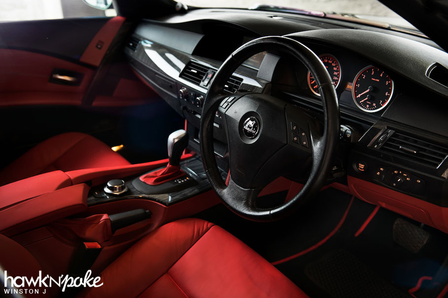 Malachite BMW E60 5 Series On BC Forged