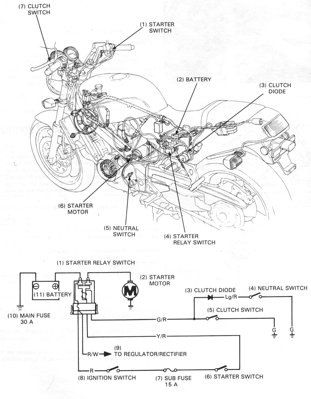 Honda Nt650 Service Manual Section 17 Electric Starter