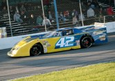 Tyler Hawn at Barrie Speedway in his Outlaw Super Late Model