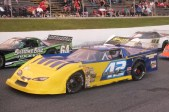 Tyler Hawn at the Biederman Memorial Race at Sunset Speedway