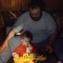 Don and Tyler at Christmas Time