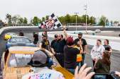 Tyler with a win at Sunset Speedway