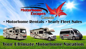 Motorhome Escapes Canada Logo