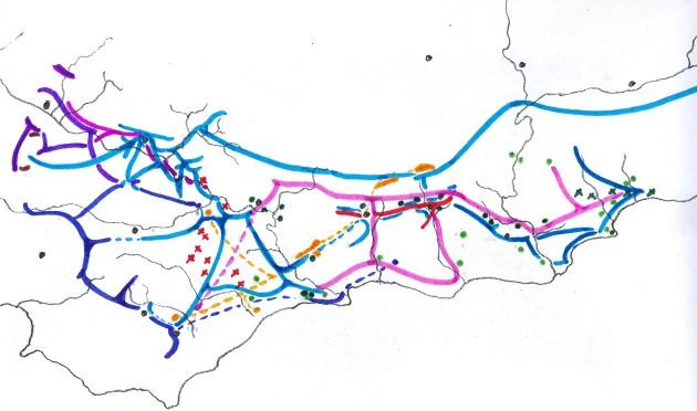 Map 1 Distribution of SW Cape species of Haworthia
