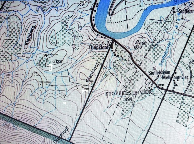 Map of the Diepkloof area.