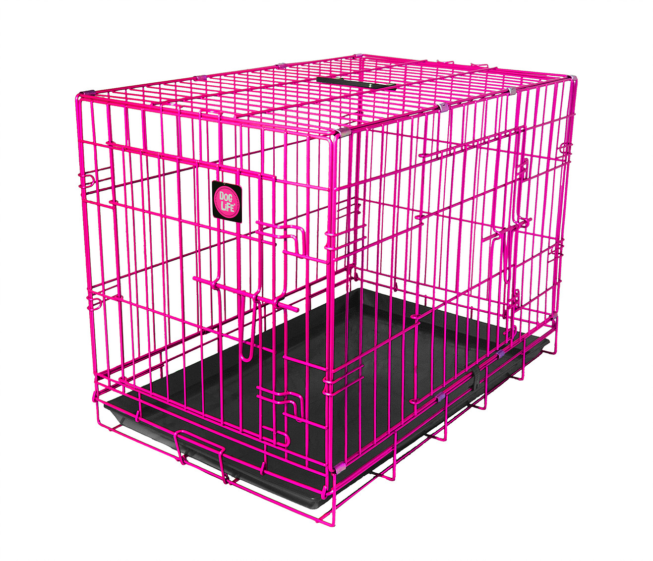 Pink Dog Crate Highquality, Durable, Colour Dog Crate Which Is Easy To