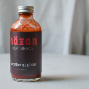 Cranberry Ghost Hot Sauce