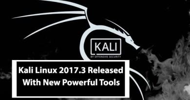 Kali Linux 2017.3 Release – The Best Penetration Testing Distribution
