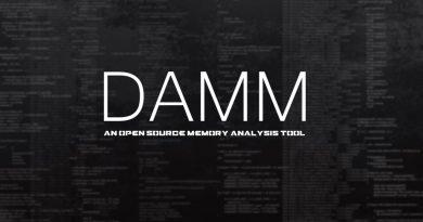 DAMM – An Open Source Memory Analysis Tool