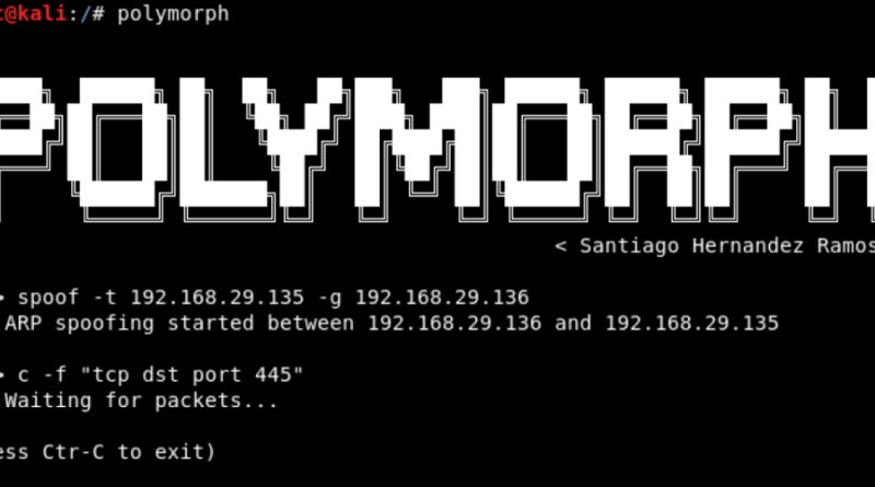 Polymorph – Real-time Network Packet Manipulation Framework