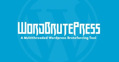 WordBrutePress – A Multithreaded WordPress Bruteforcing Tool
