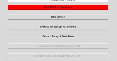 Guasap –  WhatsApp Forensic Tool