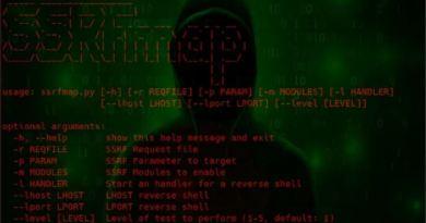 SSRFmap – Automatic SSRF Fuzzer And Exploitation Tool
