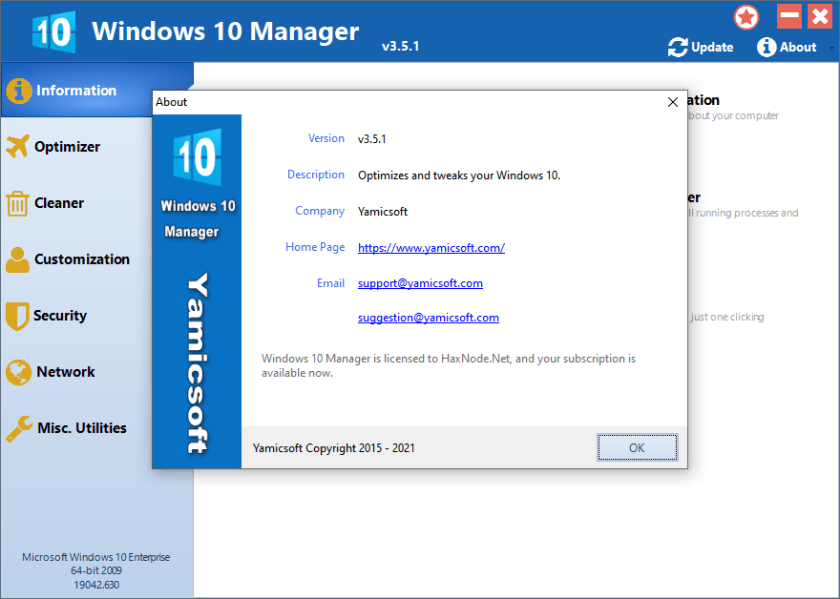 windows10manager3.5.1