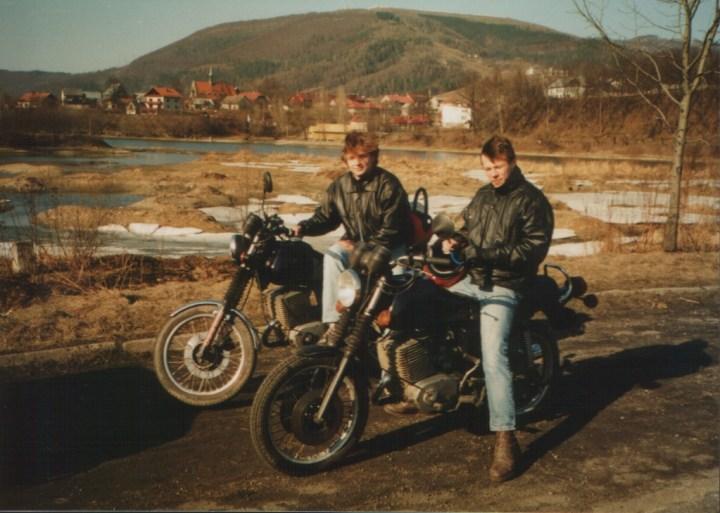 DrFugazi i Lopezzz... na MZ 250