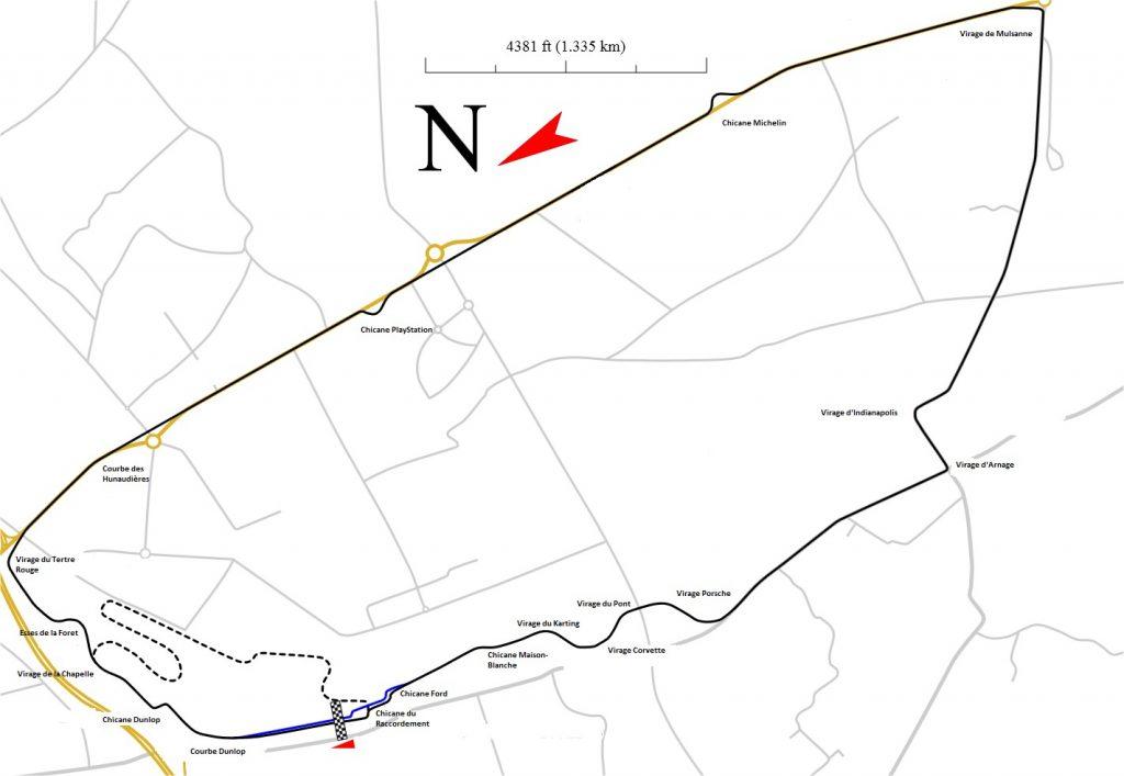 Circuit de la Sarthe - Le Mans