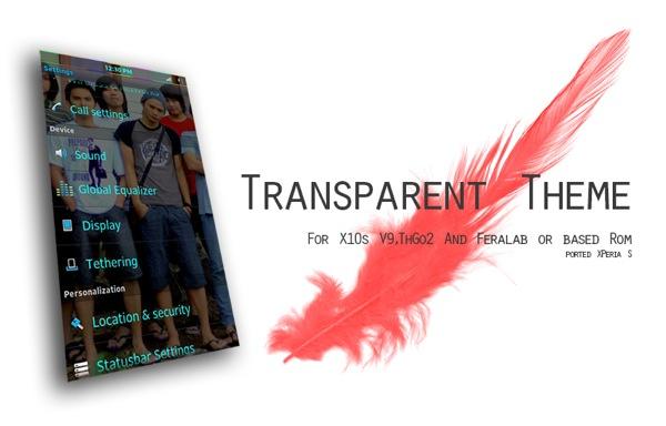 TransparentTheme