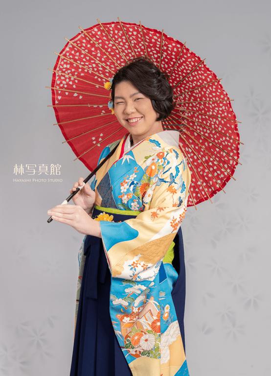 ご卒業記念写真   傘