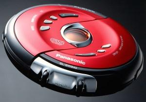 携帯CDプレーヤー_家電・時計等製品写真撮影