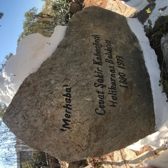Cevat Şakir Kabaağaçlı'nın Mezarı