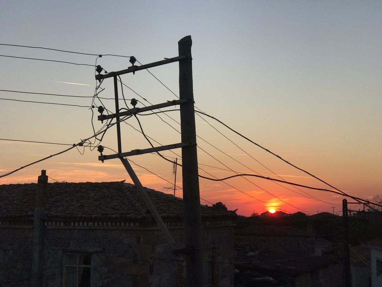 Köyde Günbatımı