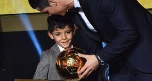 Cristiano Ronaldo: Son fils de 6 ans semble marcher sur ses traces