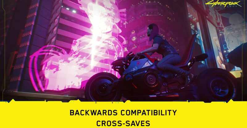 Cyberpunk 2077 PS4/Xbox One Save Files will work on Xbox Series X/PS5